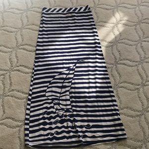 Lilly Pulitzer Stripe Maxi Skirt M
